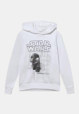 JCOGALAXY STAR WARS SWEAT HOOD JR - Huppari - white
