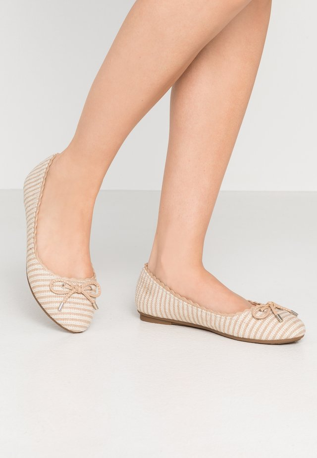 WILLOW - Ballerine - beige