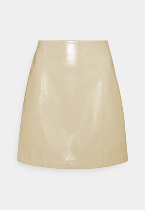 CELIA SKIRT - Spódnica mini - light grey