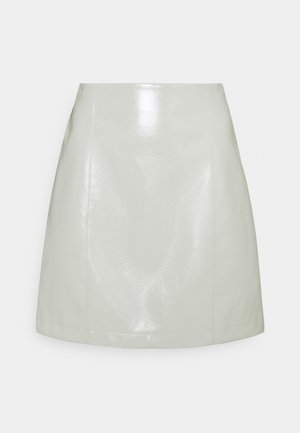 CELIA SKIRT - Mini skirt - light grey