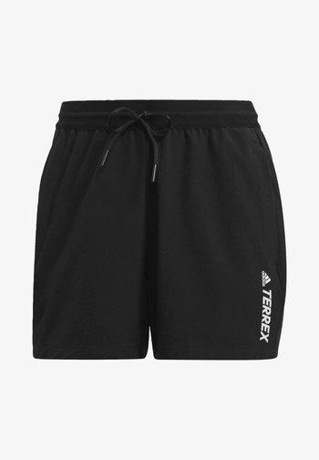 TERREX LITEFLEX - Pantalón corto de deporte - black