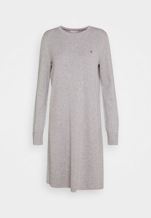 SOFT DRESS - Jumper dress - light grey heather