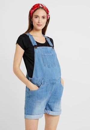 DUNGAREES - Tuinbroek - light blue denim