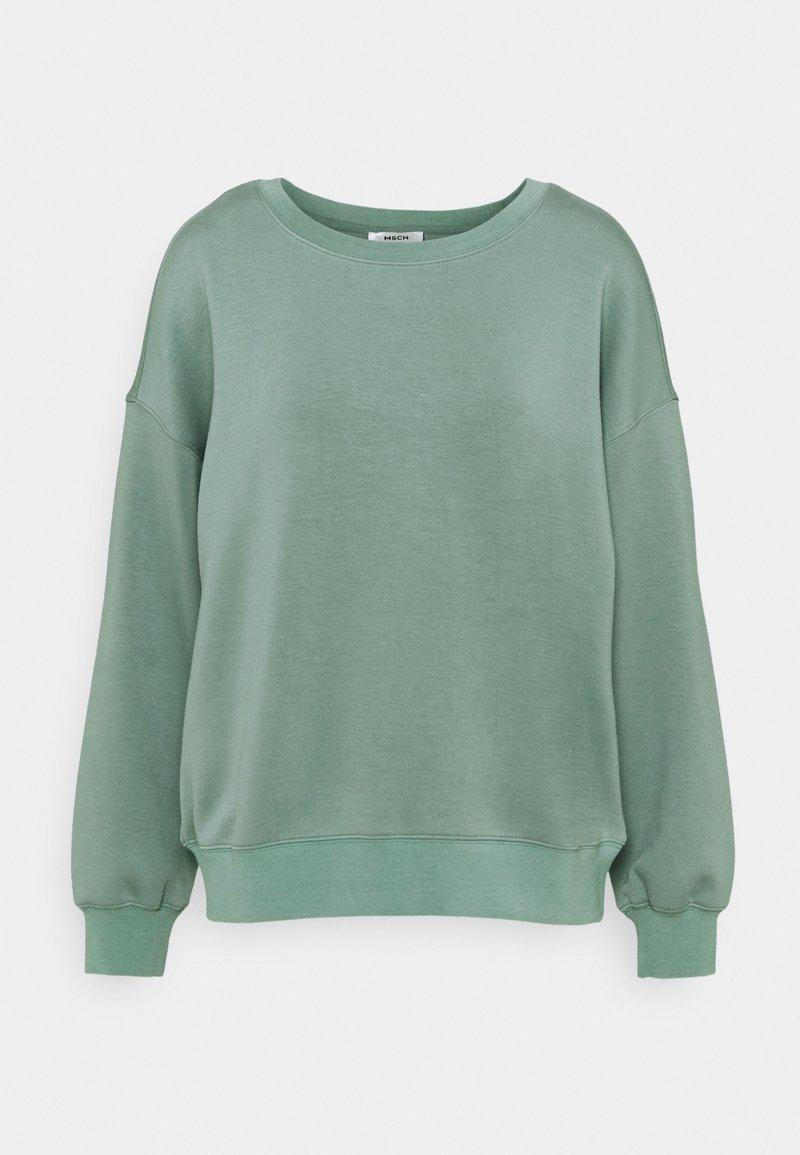 Moss Copenhagen - IMA - Sweatshirt - chinois green