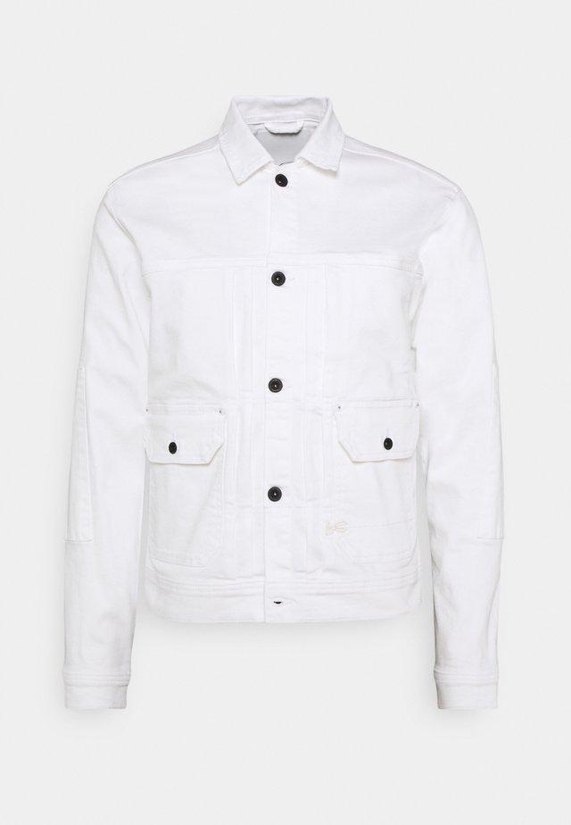 WINSTON JACKET - Veste en jean - white