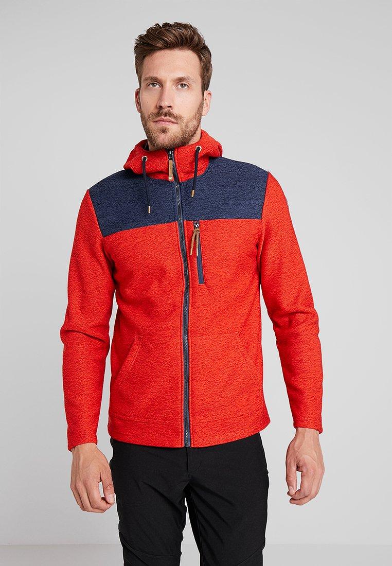 Icepeak - ATHOL - Fleece jacket - coral red