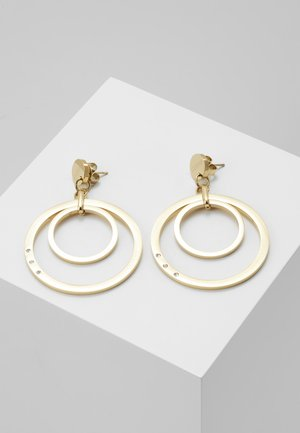ETERNAL CIRCLES - Pendientes - gold-coloured