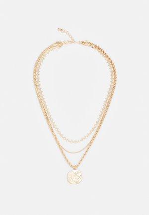 PCOLGA COMBI NECKLACE KEY - Smykke - gold-coloured