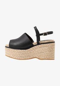 Topshop - WAKE - Sandály na vysokém podpatku - black - 1