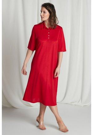 Jersey dress - paprikarot