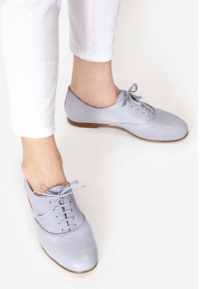 Veterschoenen - light blue