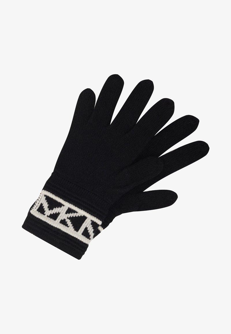 MICHAEL Michael Kors - MK TRIM GLOVE - Hansker - black