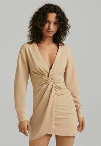 Bershka - Day dress - camel - 0