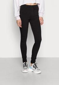 Pieces - PCHIGHSKIN WEAR  - Jeans Skinny - black - 0