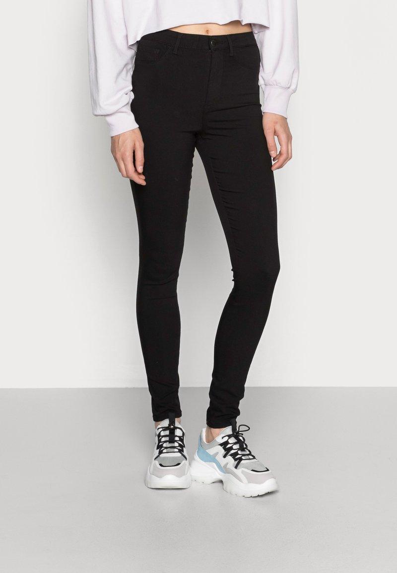 Pieces - PCHIGHSKIN WEAR  - Jeans Skinny - black