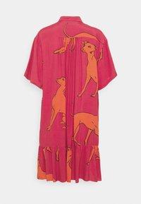 PS Paul Smith - WOMENS DRESS - Shirt dress - pink/orange - 1