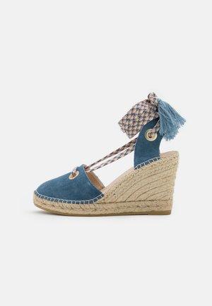 CARLA 17 - Sandály na platformě - jeans