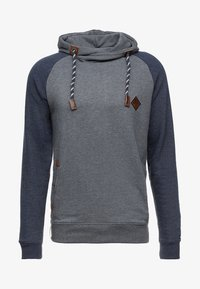 INDICODE JEANS - DYOTT - Hoodie - navy mix - 4