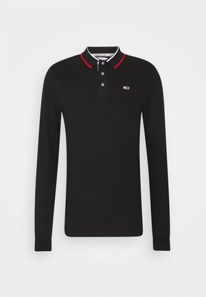 STRETCH POLO UNISEX - Koszulka polo - black