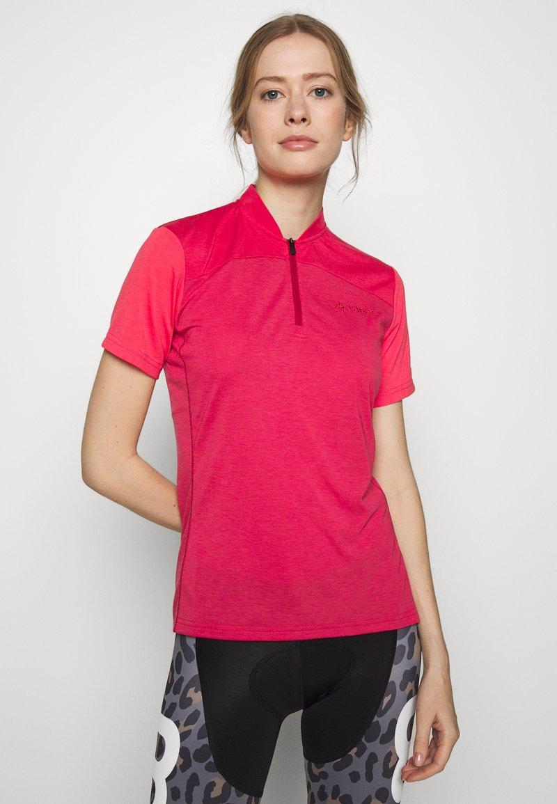 Vaude - TREMALZO - T-shirt z nadrukiem - crimson red