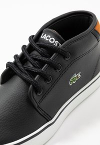 Lacoste - AMPTHILL - High-top trainers - black/brown - 2