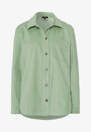 Button-down blouse - hellgrãn
