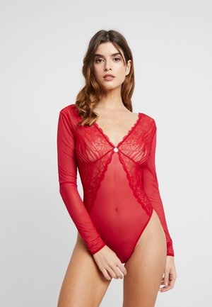 TOUCHES OF LUXE - Body - cozy red