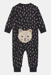 Lindex - CAT AT BACK UNISEX - Pyjama - off black - 1