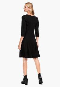 s.Oliver - Jersey dress - black - 2
