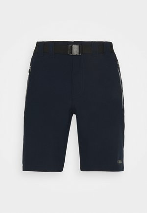 MAN BERMUDA - Outdoor Shorts - blue/cemento