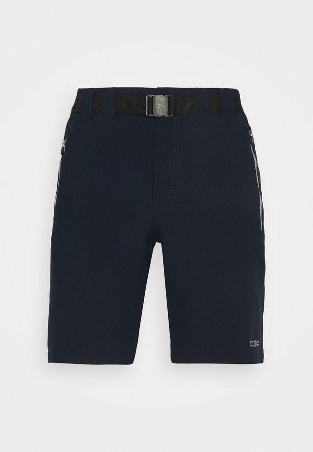 MAN BERMUDA - Outdoorshorts - blue/cemento