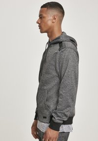 Southpole - HERREN MARLED TECH FLEECE FULL ZIP HOODY - Sweatjacke - marled black - 5