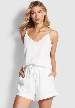 Pyjamabroek - white