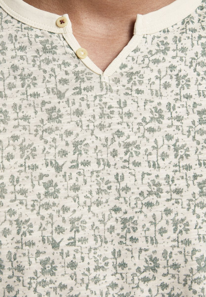 Jack & Jones PREMIUM Print T-shirt - dark forest pNoLs