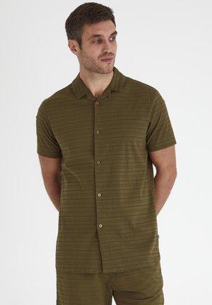 Overhemd - dark olive