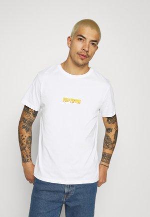 PULP FICTION LICENSE UNISEX - Print T-shirt - white