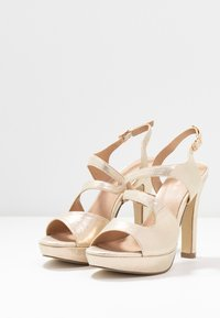 Menbur - High heeled sandals - gold - 4