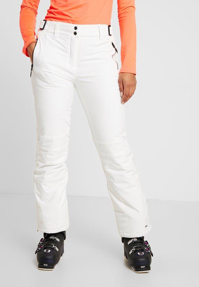 SIRANYA - Snow pants - weiß