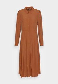 TOM TAILOR DENIM - MIDI DRESS - Maxi dress - amber brown - 3