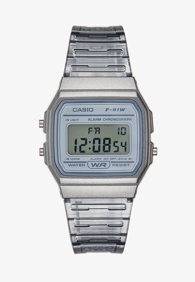 SKELETON - Digital watch - clear grey