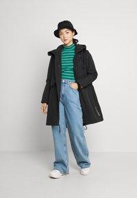 G-Star - HOODED FISHTAIL - Winter coat - black - 1
