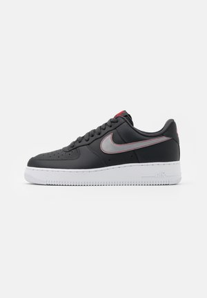 AIR FORCE 1 '07 2HO20 3M UNISEX - Baskets basses - anthracite/silver/university red/white