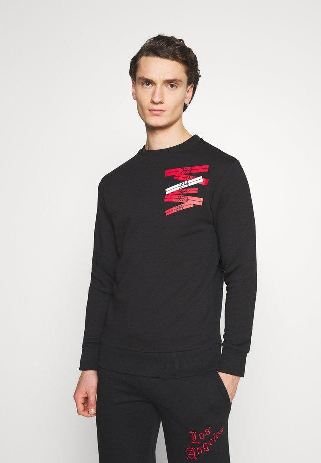 STACK CREW - Sweatshirts - black