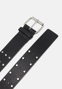 Gina Tricot - NILLA BELT - Waist belt - black/silver-coloured - 1