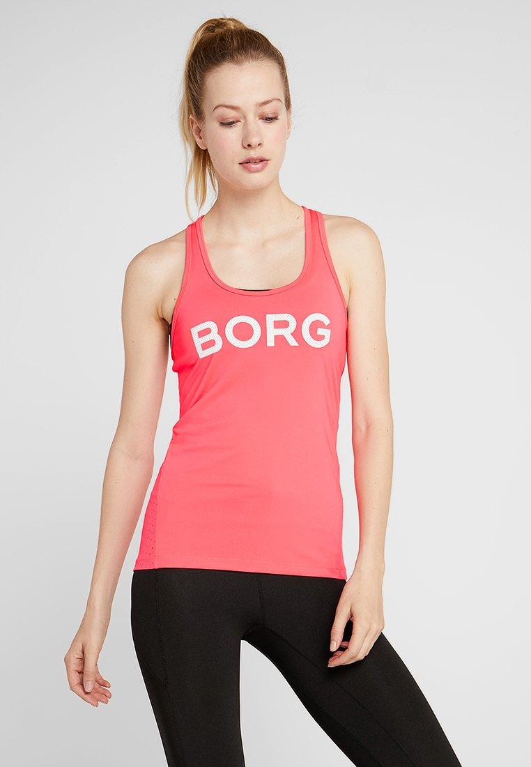 Björn Borg - CHAM TANK - Sports shirt - diva pink