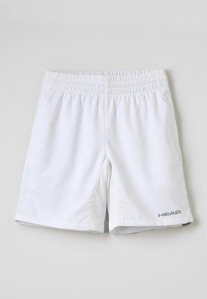 CLUB BERMUDAS  - Sportovní kraťasy - white
