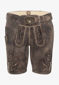 Spieth & Wensky - Leather trousers - braun - 3