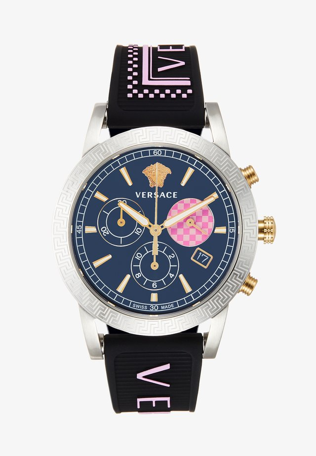 SPORT TECH - Chronograph watch - black