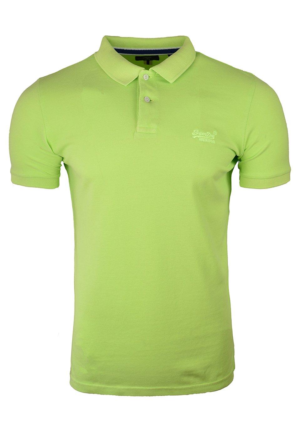 Men S/S VINTAGE DESTROYED - Polo shirt