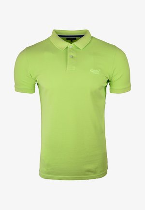 Polo shirt - acid lime